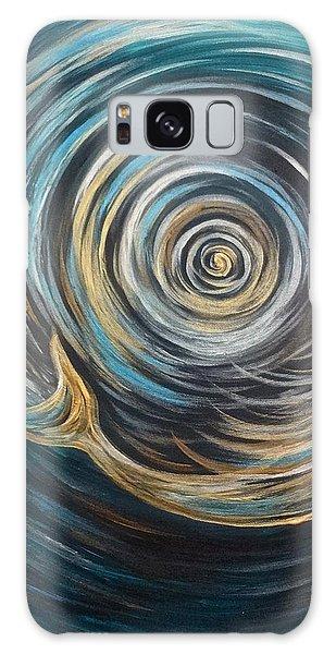 Golden Sirena Mermaid Spiral Galaxy Case