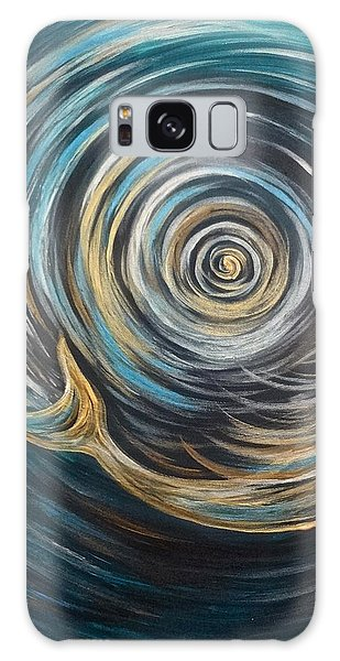 Golden Sirena Mermaid Spiral Galaxy Case