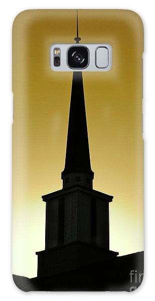 Golden Sky Steeple Galaxy Case