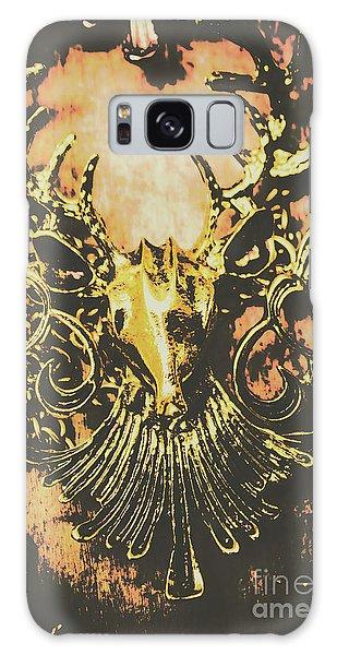 Golden Stag Galaxy Case