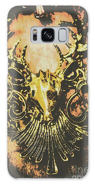 Jewels Galaxy Case - Golden Stag by Jorgo Photography - Wall Art Gallery