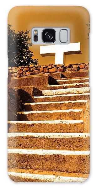 Golden Stairway Galaxy Case