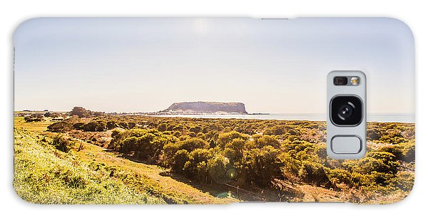 West Bay Galaxy Case - Golden Stanley Landscape by Jorgo Photography - Wall Art Gallery