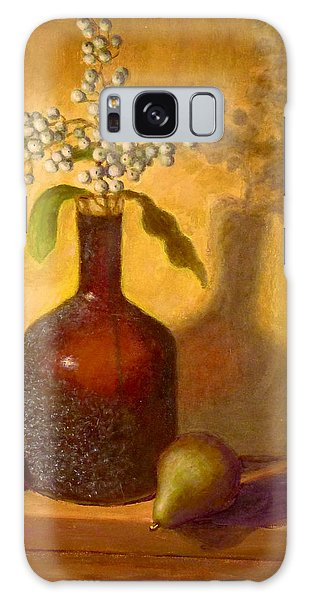 Golden Still Life Galaxy Case