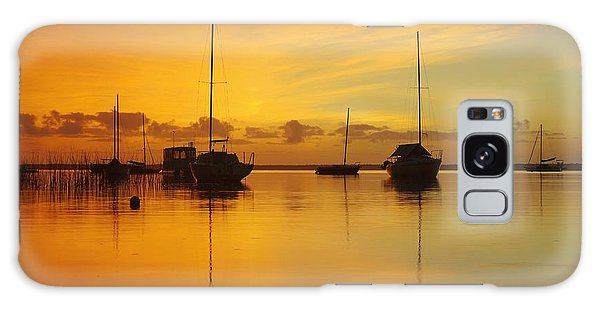 Golden Sunrise At Boreen Point Galaxy Case