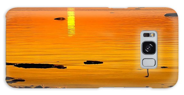 Golden Sunset At The Bay Galaxy Case