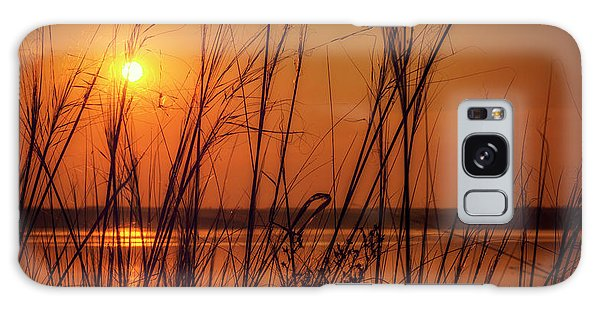 Golden Sunset At The Lake Galaxy Case by John Williams