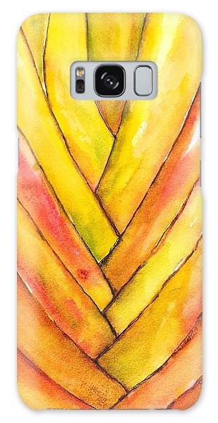 Golden Travelers Palm Trunk Galaxy Case