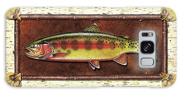 Trout Galaxy Case - Golden Trout Lodge by JQ Licensing