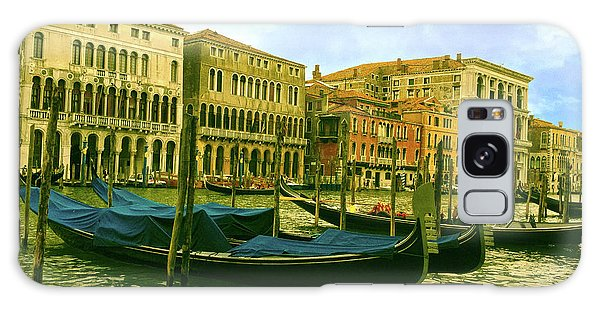 Galaxy Case featuring the photograph Golden Venice by Anne Kotan