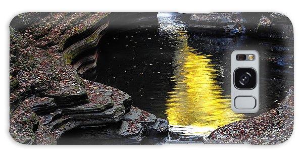Golden Water Galaxy Case by Vilas Malankar