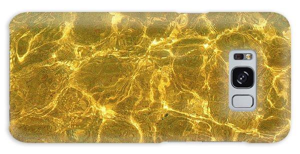 Golden Wave Galaxy Case
