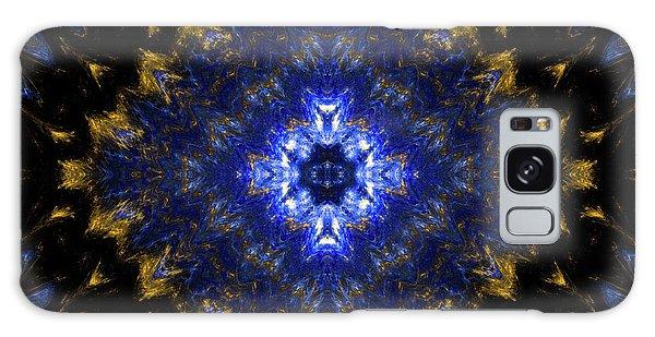 Golden Way Mandala 21 Galaxy Case