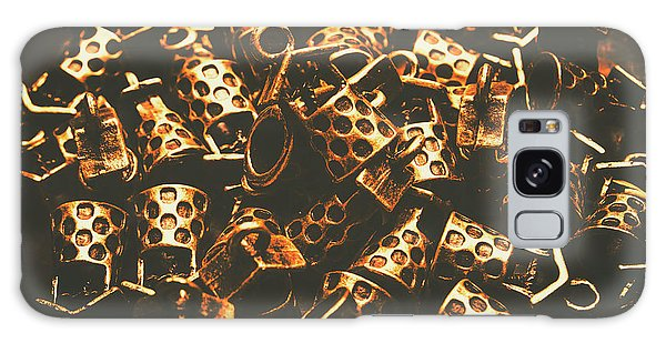 Success Galaxy Case - Golden Wells by Jorgo Photography - Wall Art Gallery