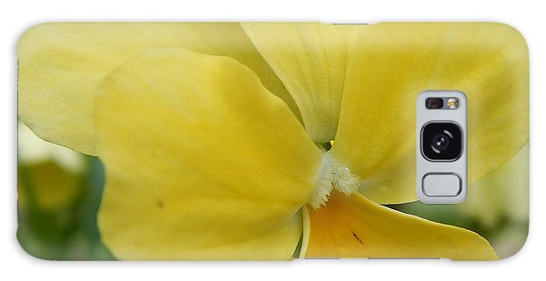Golden Yellow Flower Galaxy Case