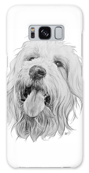 Goldendoodle Galaxy Case