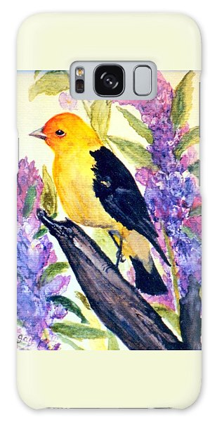 Goldfinch Galaxy Case