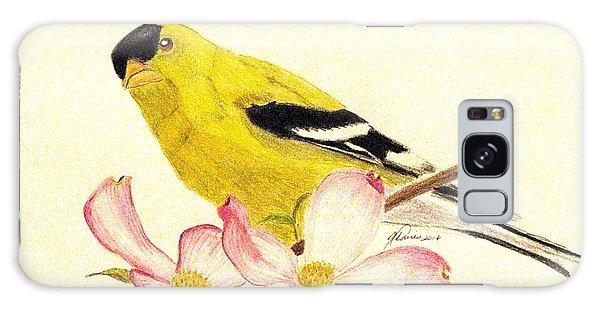 Goldfinch Spring Galaxy Case