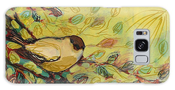 Impressionist Galaxy Case - Goldfinch Waiting by Jennifer Lommers
