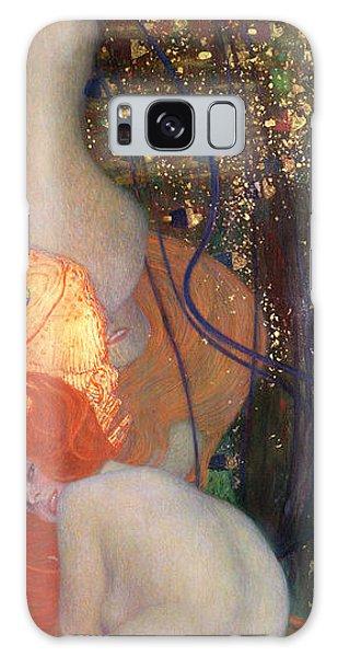 Goldfish Galaxy Case - Goldfish by Gustav Klimt