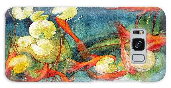 Goldfish Pond Galaxy Case