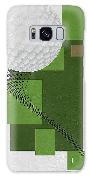 Golf Art Par 4 Galaxy Case