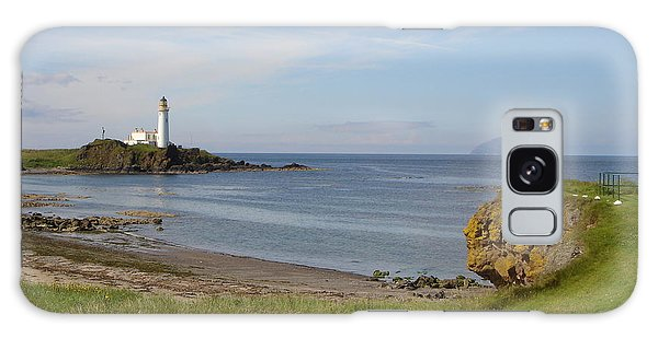Golf At Turnberry Scotland Galaxy Case by Jan Daniels