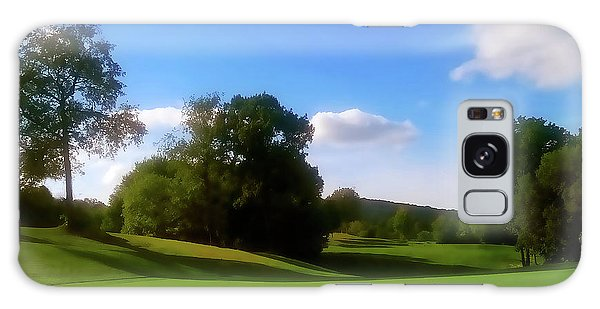Golf Course Landscape Galaxy Case