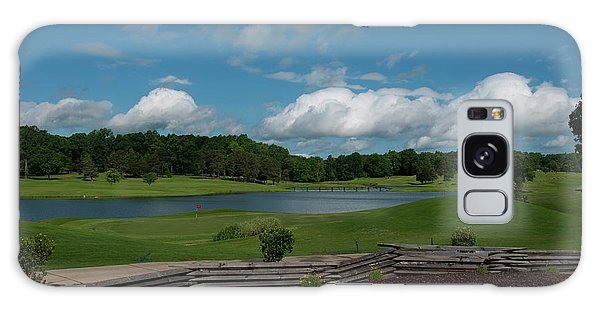 Golf Course The Back 9 Galaxy Case by Chris Flees