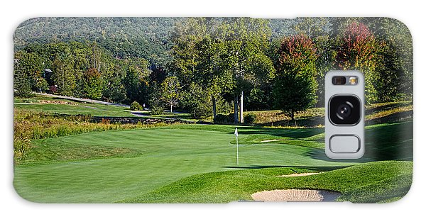 Early Autumn Golf Galaxy Case