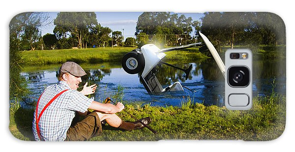 Drown Galaxy Case - Golf Problem by Jorgo Photography - Wall Art Gallery