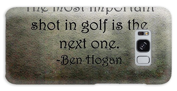 Golf Quote Galaxy Case