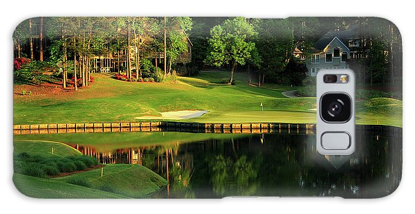 Golf The Landing #3 Reynolds Plantation Lake Oconee Ga Art Galaxy Case
