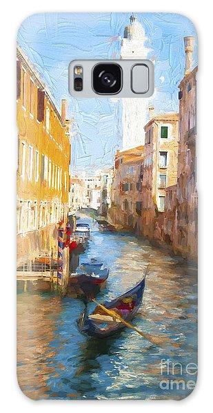 Gondola E Campanile Galaxy Case by Jack Torcello