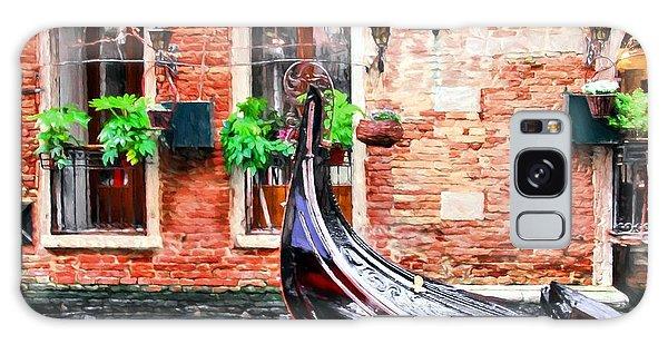 Gondola In Venice Galaxy Case