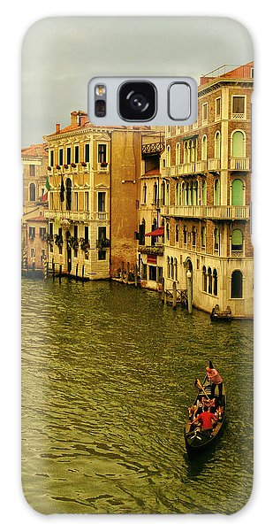 Galaxy Case featuring the photograph Gondola Life by Anne Kotan