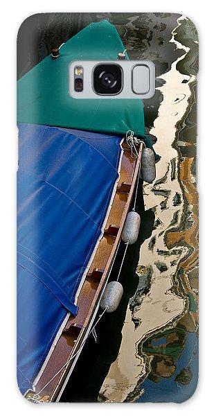 Gondola Reflection Galaxy Case