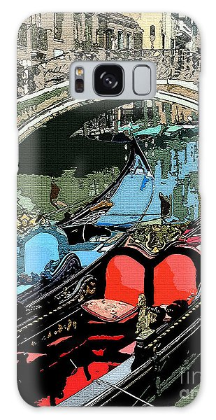 Gondolas Fresco  Galaxy Case