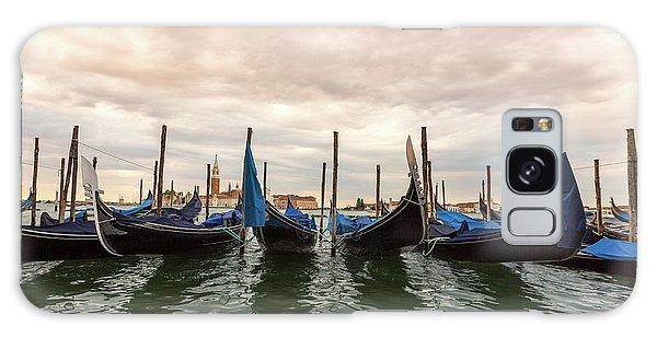 Gondolas In Venice Galaxy Case by Melanie Alexandra Price