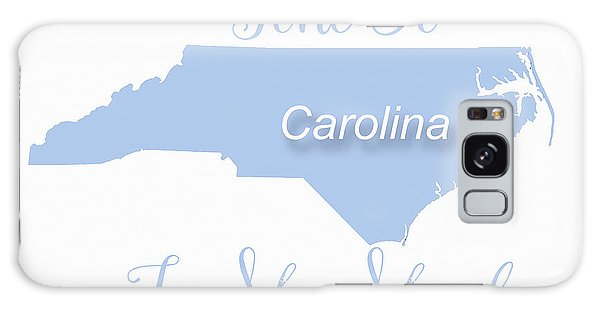 Galaxy Case - Gone To Carolina by Paulette B Wright