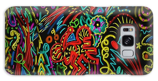 Gone Wild Galaxy Case by Kevin Caudill