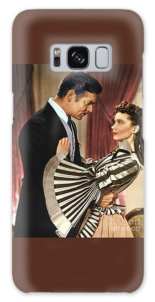 Gone With The Wind - 1939 - Completely Retouched In Color Galaxy Case