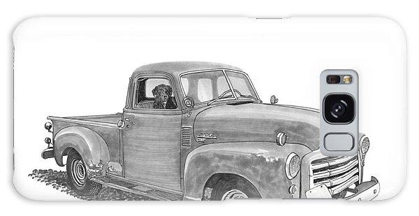 Old Truck Galaxy Case - Good Buddies by Jack Pumphrey