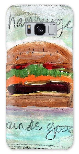 Summer Galaxy Case - Good Burger by Linda Woods