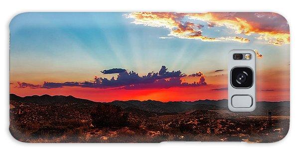 Galaxy Case featuring the photograph Good Evening Arizona by Rick Furmanek