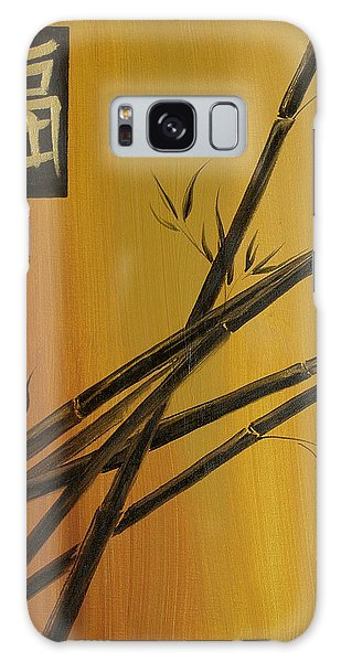 Good Fortune Bamboo 1 Galaxy Case by Dina Dargo