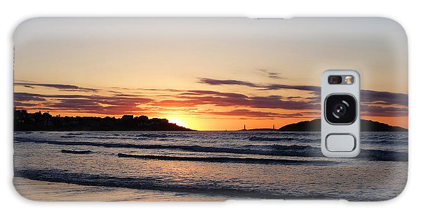 Good Harbor Beach At Sunrise Gloucester Ma Galaxy Case