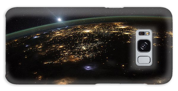 Good Morning From The International Space Station Galaxy Case