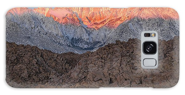 Good Morning Mount Whitney Galaxy Case