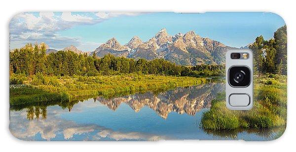 Teton Galaxy Case - Good Morning Tetons by Robert Bynum